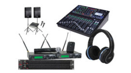 hire audio equipment